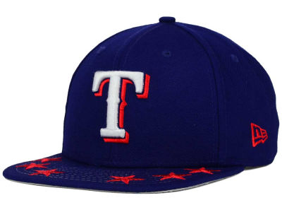 Texas Rangers New Era MLB Star Viz 9FIFTY Snapback Cap