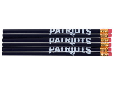 New England Patriots 6-pack Pencils