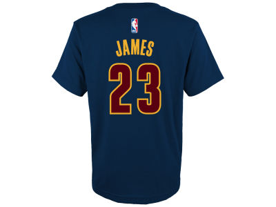 Cleveland Cavaliers LeBron James adidas NBA Youth Name And Number T-Shirt