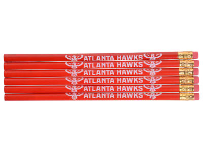 Atlanta Hawks 6-pack Pencils