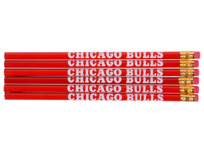 Chicago Bulls 6-pack Pencils