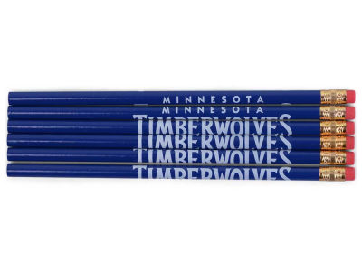Minnesota Timberwolves 6-pack Pencils