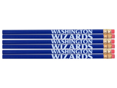 Washington Wizards 6-pack Pencils