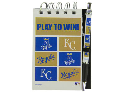 Kansas City Royals 3x5 Flip Spiral Notebook Pen Set