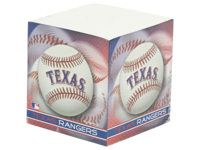 Texas Rangers Sticky Note Cube
