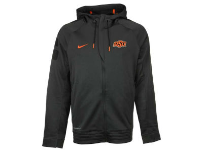 Oklahoma State Cowboys Nike NCAA Men's Elite Stripe Full Zip Hoodie