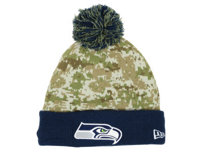 Seattle Seahawks New Era NFL 2015 Salute to Service Knit
