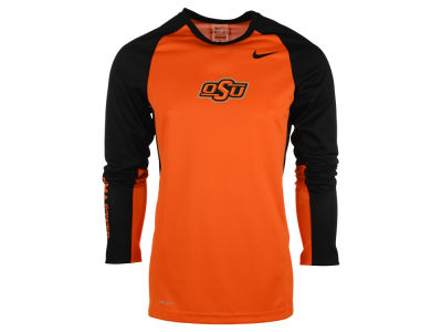 Oklahoma State Cowboys Nike NCAA Men's Elite Shootaround Long Sleeve T-Shirt