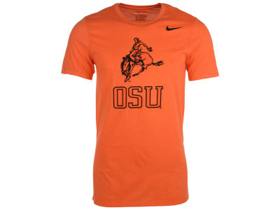 Oklahoma State Cowboys Nike NCAA Men's Triblend Logo Plus T-Shirt