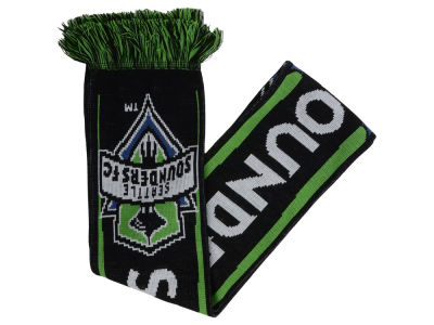 Seattle Sounders FC MLS Blackbow Stripe Scarf