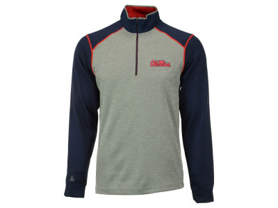 Ole Miss Rebels NCAA Men's Breakdown 1/4 Zip Pullover Shirt