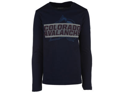 Colorado Avalanche NHL Youth Line Up Long Sleeve T-Shirt