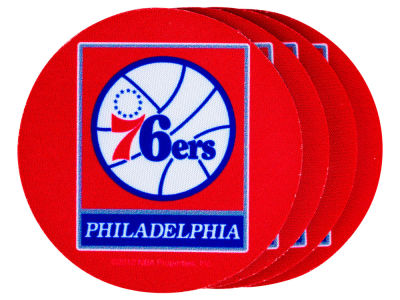 Philadelphia 76ers 4-pack Neoprene Coaster Set
