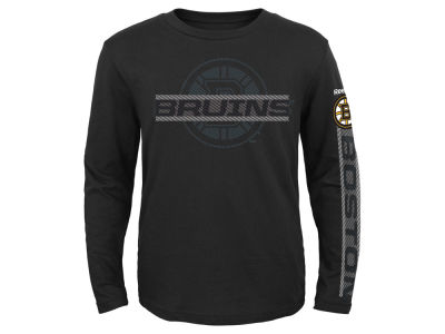 Boston Bruins NHL Youth Line Up Long Sleeve T-Shirt