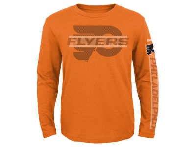 Philadelphia Flyers NHL Youth Line Up Long Sleeve T-Shirt