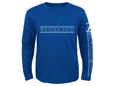 Tampa Bay Lightning NHL Youth Line Up Long Sleeve T-Shirt