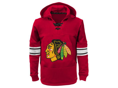 Chicago Blackhawks NHL Youth Offside Poly Fleece Hoodie