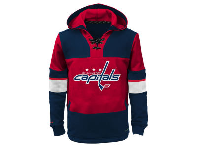 Washington Capitals NHL Youth Offside Poly Fleece Hoodie