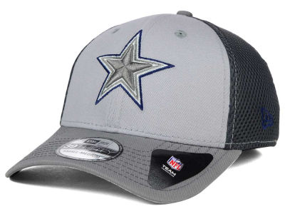 Dallas Cowboys New Era NFL Greyed Out Neo Flex 39THIRTY Cap