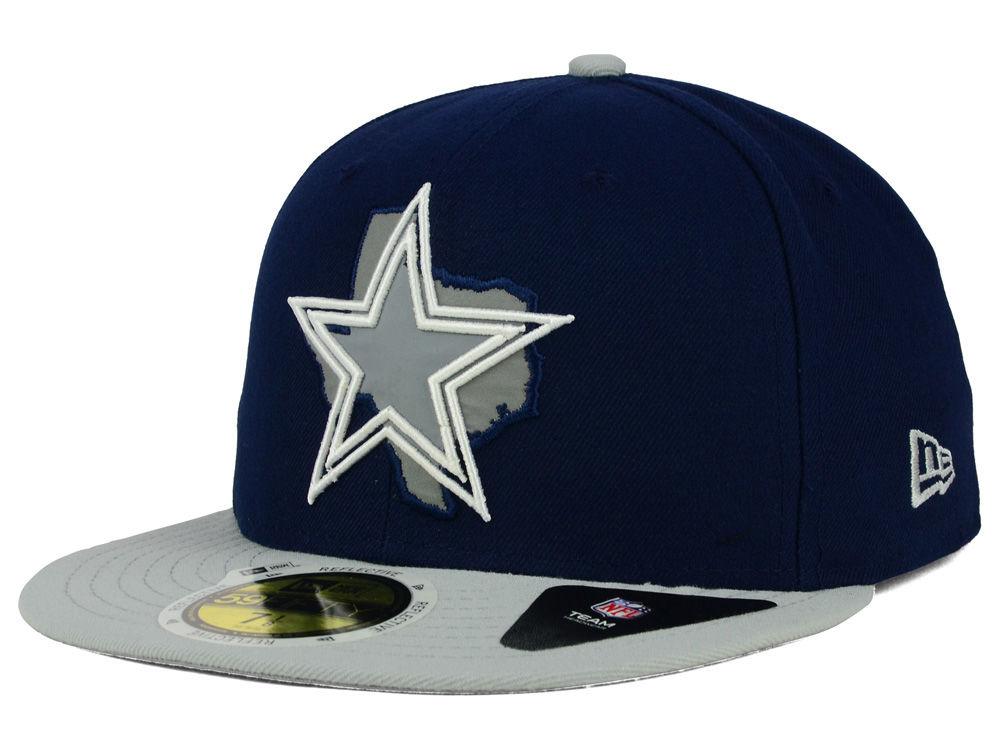 Dallas Cowboys New Era NFL State Flective Redux 59FIFTY Cap  4ead75672eb