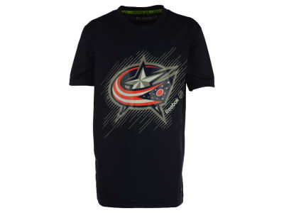 Columbus Blue Jackets NHL Youth TNT Frost Logo T-Shirt