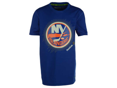 New York Islanders NHL Youth TNT Frost Logo T-Shirt