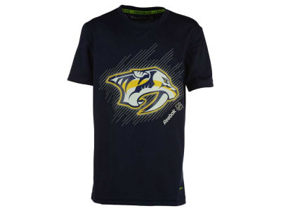 Nashville Predators NHL Youth TNT Frost Logo T-Shirt