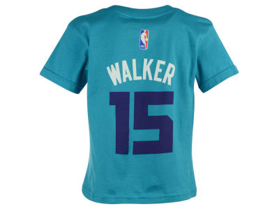 Charlotte Hornets Kemba Walker NBA Kids Name And Number T-Shirt