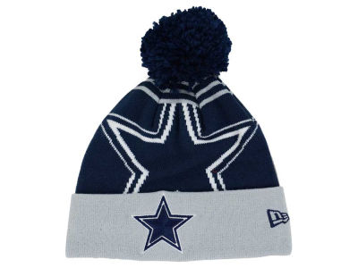 Dallas Cowboys New Era NFL Logo Whiz Pom Knit