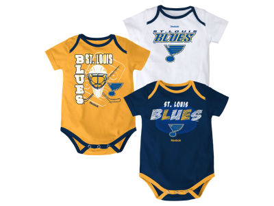 St. Louis Blues NHL Newborn 3 Part Spread Creeper Set