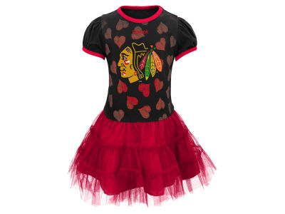 Chicago Blackhawks adidas NHL Toddler Love To Dance Dress