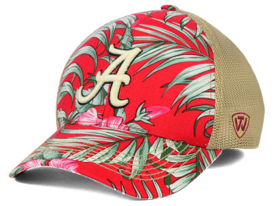 Alabama Crimson Tide Top of the World NCAA Shore Stretch Cap