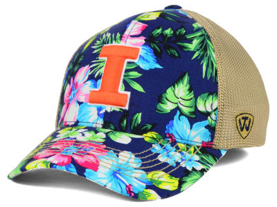 Illinois Fighting Illini Top of the World NCAA Shore Stretch Cap