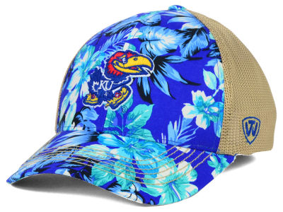 Kansas Jayhawks Top of the World NCAA Shore Stretch Cap