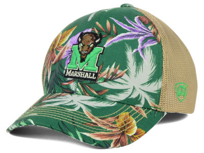 Marshall Thundering Herd Top of the World NCAA Shore Stretch Cap