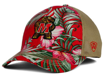 Maryland Terrapins Top of the World NCAA Shore Stretch Cap