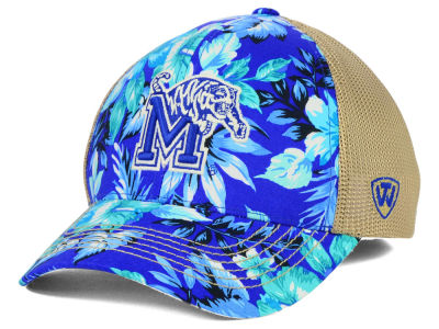 Memphis Tigers Top of the World NCAA Shore Stretch Cap