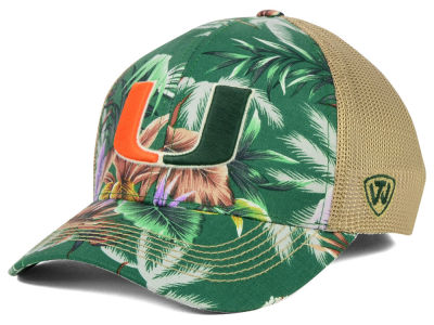 Miami Hurricanes Top of the World NCAA Shore Stretch Cap