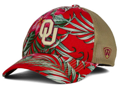 Oklahoma Sooners Top of the World NCAA Shore Stretch Cap