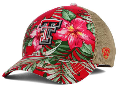 Texas Tech Red Raiders Top of the World NCAA Shore Stretch Cap