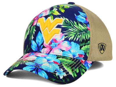 West Virginia Mountaineers Top of the World NCAA Shore Stretch Cap