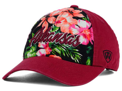 Arkansas Razorbacks Top of the World NCAA Beach Bum Cap