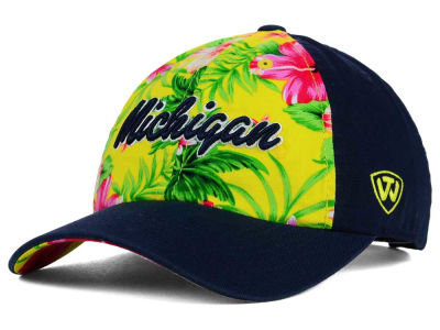 Michigan Wolverines Top of the World NCAA Beach Bum Cap