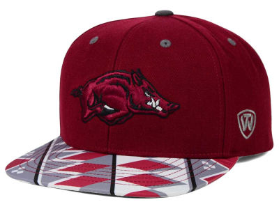 Arkansas Razorbacks Top of the World NCAA Tribe Snapback Cap