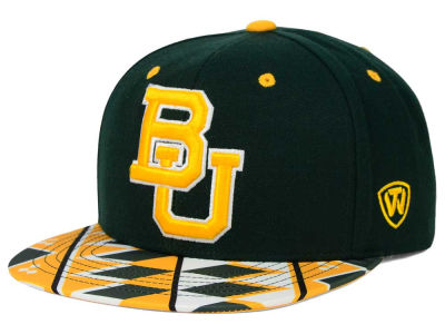 Baylor Bears Top of the World NCAA Tribe Snapback Cap