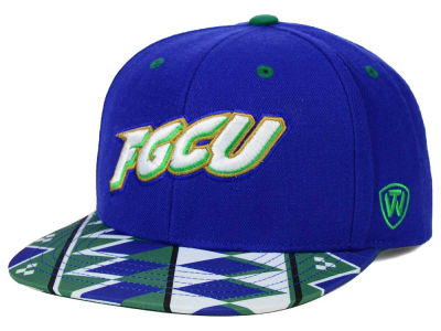 Florida Gulf Coast Eagles Top of the World NCAA Tribe Snapback Cap