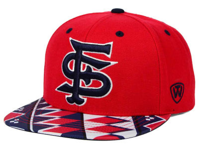 Fresno State Bulldogs Top of the World NCAA Tribe Snapback Cap
