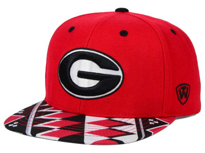 Georgia Bulldogs Top of the World NCAA Tribe Snapback Cap