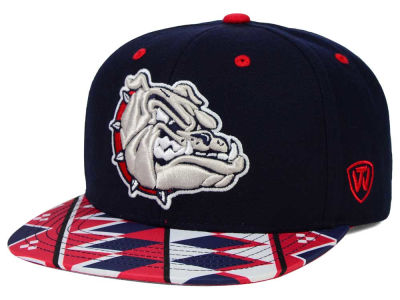 Gonzaga Bulldogs Top of the World NCAA Tribe Snapback Cap