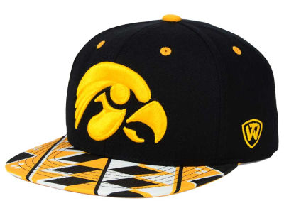 Iowa Hawkeyes Top of the World NCAA Tribe Snapback Cap